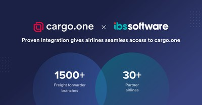 IBS Software and cargo.one integration for easy bookings