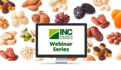INC系列网络研讨会汇聚来自于75个国家的1500多位坚果和干果行业专业人士