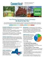 Reopen Connecticut Tourism Campaign Fact Sheet