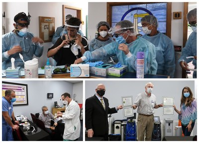 The Institute for Advanced Laser Dentistry is the first dental education CE provider to successfully resume live-patient clinical training post COVID-19.