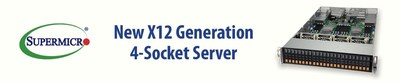 Supermicro Launches 4-Socket Server Bringing Outstanding Performance to a Broad Set of Enterprise-Class Workloads