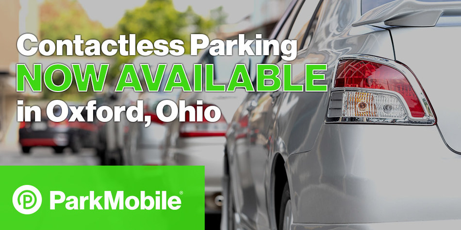 The ParkMobile app will be available at all of the city's on-street meters, South Main Street parking garage, and the surface lot on North Main Street near the Miami University campus.