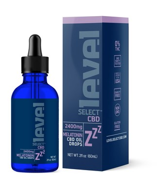 Kadenwood, LLC, launches Level Zzz CBD Oil Drops infused with Melatonin