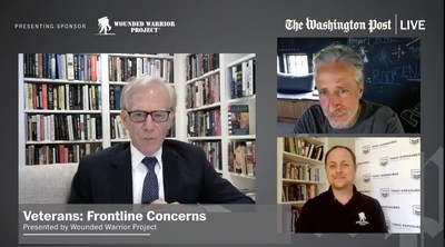 Washington Post columnist David Ignatius and WWP Government Affairs Director Derek Fronabarger live event