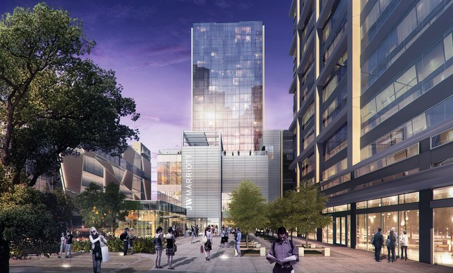 First announced in November of 2018, the first JW Marriott in the Carolinas is on track for completion in the first half of 2021.