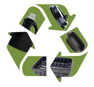 Recyclage de plastiques noirs détectables à l'infrarouge (PRNewsfoto/The Shepherd Color Company)