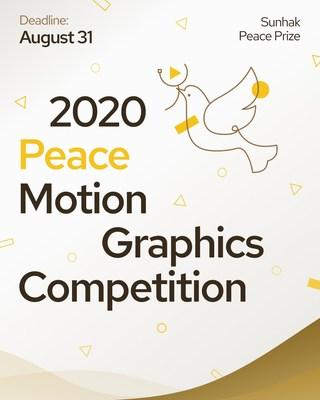 Concurso de animação gráfica sobre a paz em 2020