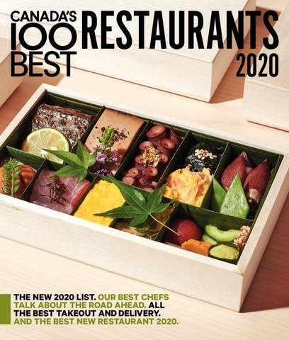 CANADA'S 100 BEST RESTAURANTS - 2020 MAGAZINE COVER (CNW Group/CANADA'S 100 BEST)