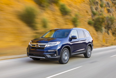 The 2021 Honda Pilot is arriving at dealerships today with a new Special Edition (SE) trim, standard 9-speed transmission with paddle shifters, standard dual-zone climate control, and a new Platinum White Pearl color available for the Black Edition trim. The 2021 Pilot LX with 2-wheel drive and standard Honda Sensing® safety and driver-assistive technology carries a starting MSRP of $32,250.