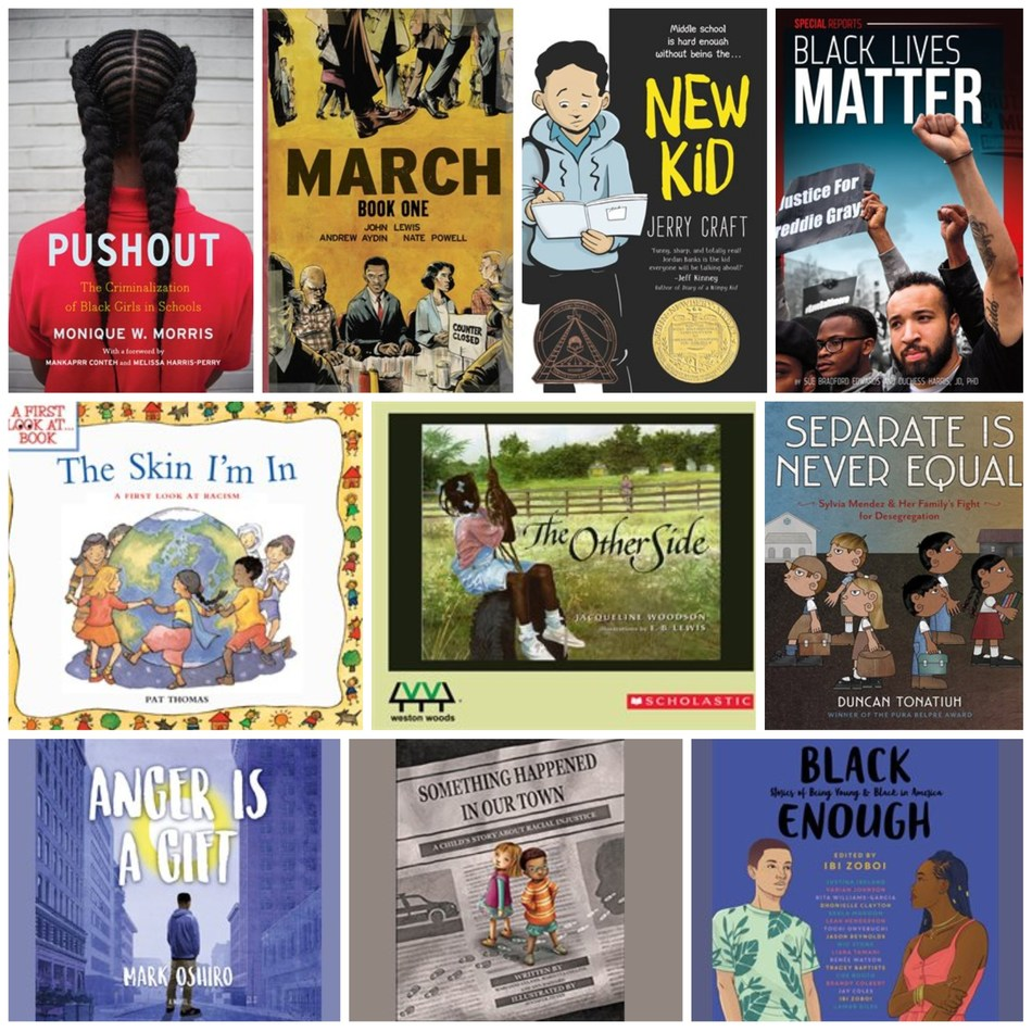 hoopla digital curated collections of books that address systemic racism and issues of racial injustice. Acclaimed books for kids and young adult readers are among the hundreds of instantly available titles.