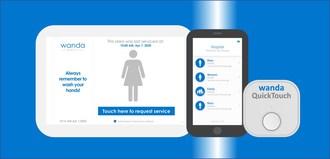 Le système de gestion numérique de nettoyage WandaNEXT(MC) comprend une application mobile pour vérifier et valider le nettoyage en fonction des protocoles d'hygiène établis dans les installations. (Groupe CNW/Bunzl Canada)