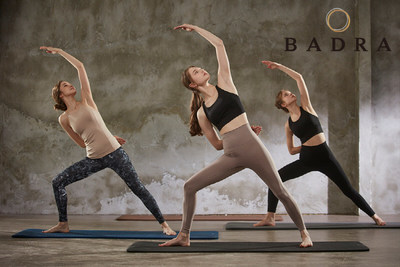 Badra introduces 3 types of eco-friendly yoga mats with natural rubbers