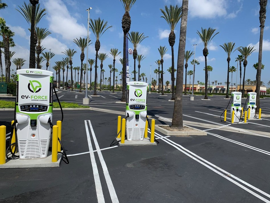 Tritium and EvGateway have partnered on a new project in a popular retail center in Orange County's Buena Park.