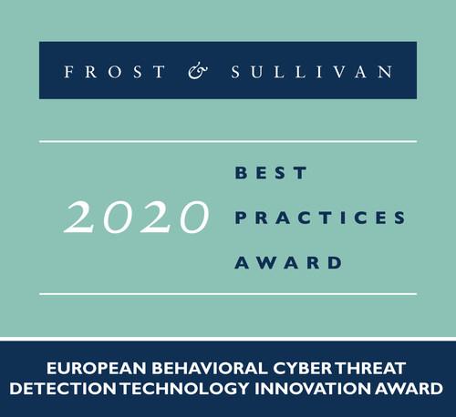 2020 European Behavioral Cyber Threat Detection Technology Innovation Award