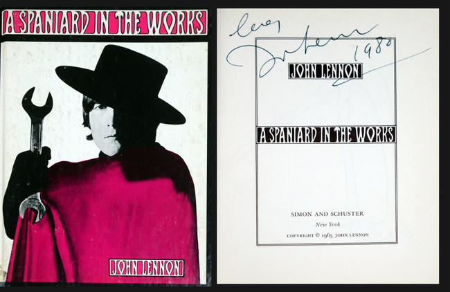 Last Book Signed By John Lennon Sold For $18,000