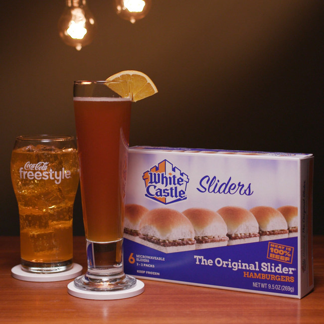 """Saturday, June 20, is the Summer Solstice, traditionally known as the longest day of the year. But with the longest day comes the shortest night, and that's the part of the Summer Solstice that White Castle  wants to celebrate. White Castle is releasing three """"Cocktails and Craves"""" pairings, each one featuring a mouthwatering White Castle Slider and a delightful custom drink – mixed with a beverage from Coca-Cola Freestyle® machines found in virtually every White Castle."""