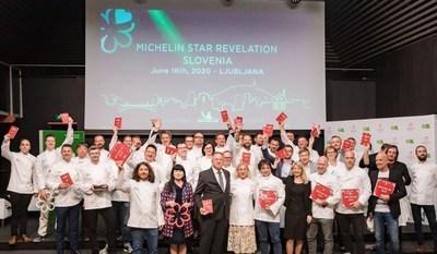 Slovenian Tourist Board: First Six Michelin Star Restaurants in Slovenia. (PRNewsfoto/Slovenian Tourist Board)