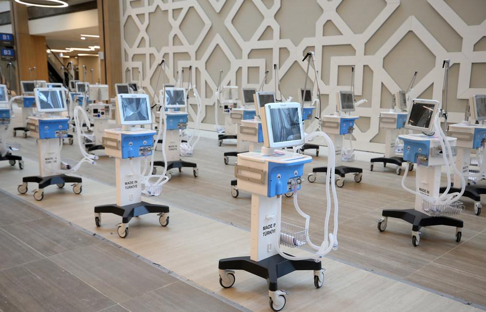 Arçelik completes mass production of 5,000 ventilators