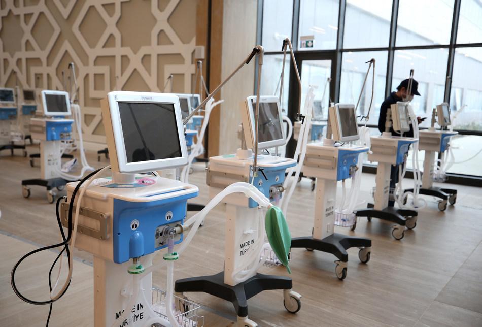 Ventilators were manufactured at Arçelik's Çerkezköy electronics factory