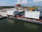 Venture Global anuncia a chegada do primeiro equipamento de liquefação na unidade de exportação da Calcasieu Pass LNG