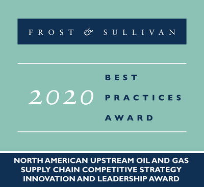 2020 North American Upstream Oil and Gas Supply Chain Competitive Strategy Innovation and Leadership Award