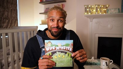 TV presenter and choreographer Ashley Banjo celebrates Father's Day with an IGTV story time reading of 'Lily and the Wipe Monster' as part of his partnership with plastic-free baby wipe brand, Pura.