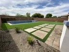 Artificial Grass Creates an Oasis for La Quinta Homeowners