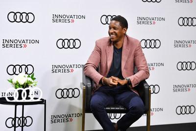 2020 Audi Innovation Series Featuring Masai Ujiri, President, Toronto Raptors (CNW Group/Audi Canada)