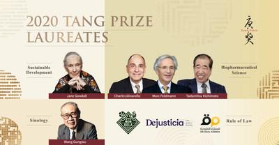 Los galardonados con los Premios Tang 2020 se esfuerzan por un nuevo mundo ordenado