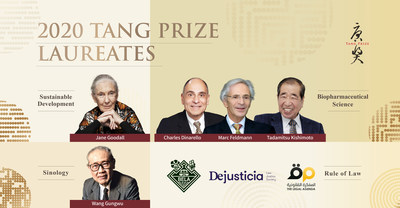 2020 Tang Prize Laureates