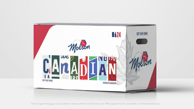 #MakeItCanadian www.TheCanadianCase.ca (CNW Group/Molson Canadian)
