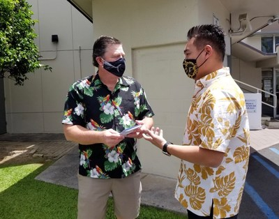 'Ohana Health Plan donated Walmart gift cards for use on essential supplies to Community People Ministries in Oahu.