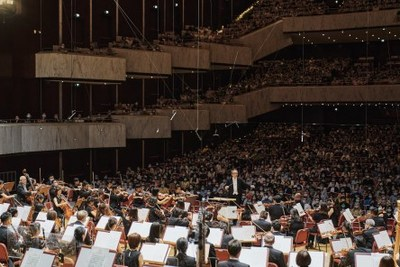 In Taipei, the National Theater and Concert Hall has once again opened its doors to the public. photo by NSO