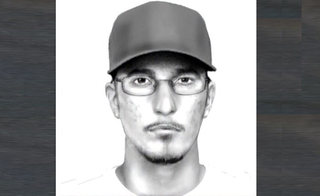 Police Sketch of Hit and Run Suspect