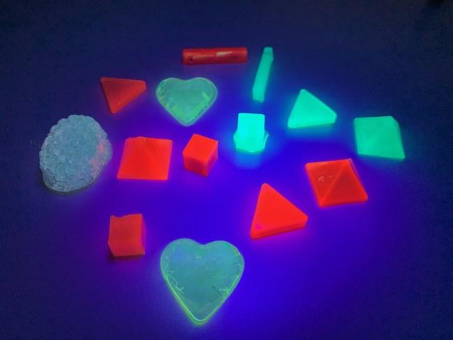 Quantum Dot + UV Resin Composite Material