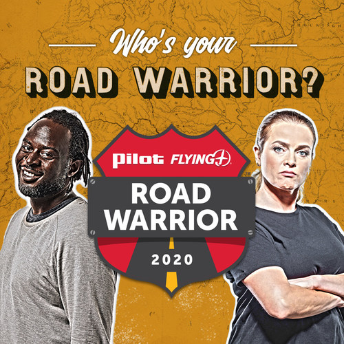 Pilot Flying J's annual Road Warrior contest is accepting nominations from June 22 to July 20, 2020 to recognize professional truck drivers with the chance to win a $10,000 grand prize. (PRNewsfoto/Pilot Flying J)