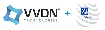 VVDN Technologies and HFCL Logo