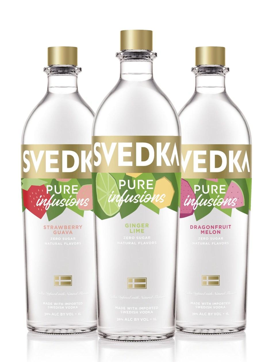 SVEDKA Vodka releases Pure Infusions