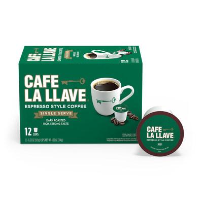 Café La Llave Espresso Single Serve Coffee Pods