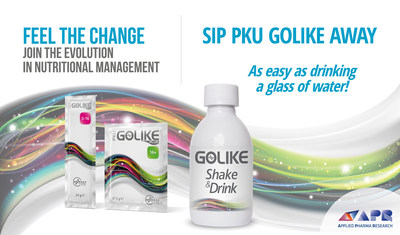 GOLIKE Shake & Drink, the new ally for PKU patients