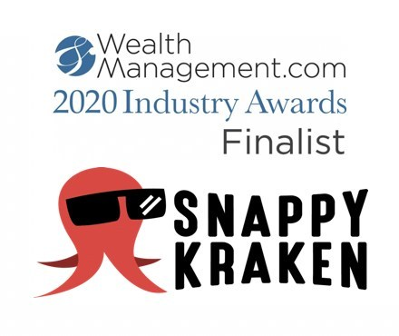 Judges Acknowledge Leading MarTech Firm Third Consecutive Year as Marty Bicknell of Mariner Wealth Advisors praises Snappy Kraken Approach