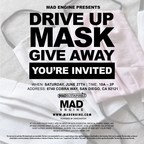 Mad Engine Gives Away Free Masks in San Diego This Weekend