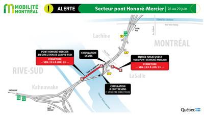 Pont-Honoré-Mercier (Groupe CNW/Ministère des Transports)
