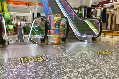 Saks Fifth Avenue Main Floor Escalators (PRNewsfoto/Saks Fifth Avenue)