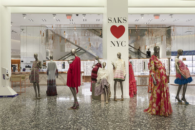 Saks Fifth Avenue Main Floor (PRNewsfoto/Saks Fifth Avenue)