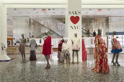 Saks Fifth Avenue Main Floor (PRNewsfoto/Saks Fifth Avenue)