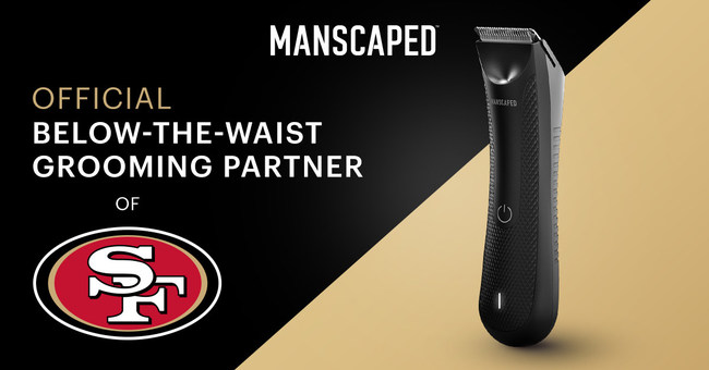 Leading men's below-the-waist grooming and hygiene brand, MANSCAPED, and five-time Super Bowl champions the San Francisco 49ers have announced an exclusive multi-year partnership.
