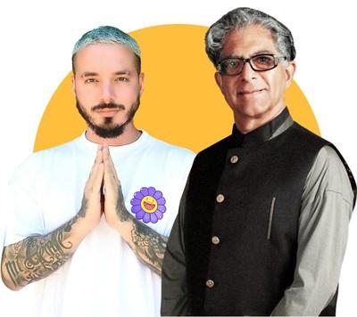 """Chopra hace equipo con J Balvin para crear el nuevo programa de la serie 21-Day Meditation Experience: """"RENUÉVATE: EN CUERPO, MENTE Y ESPÍRITU"""""""
