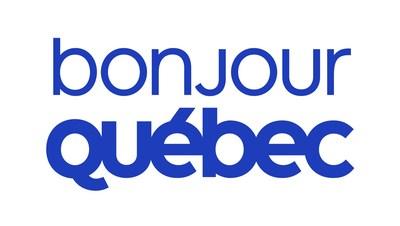 Logo : Bonjour Québec (Groupe CNW/Alliance de l'industrie touristique du Québec)
