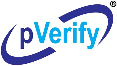 pVerify - Leader In Patient Eligibility Insurance Verification solutions for the medical front offices, EMR, DME, healthcare software, hospitals and clinics. pVerify streamlines front-end patient insurance eligibility and benefit verification processes to not only improve patient collections but also reduce back-office denials (PRNewsfoto/pVerify, Inc.)